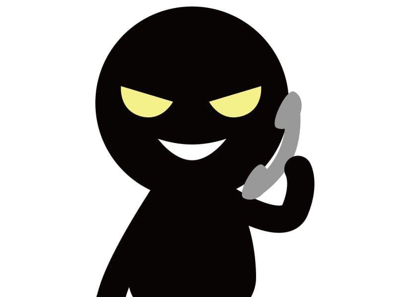 電話による詐欺事例