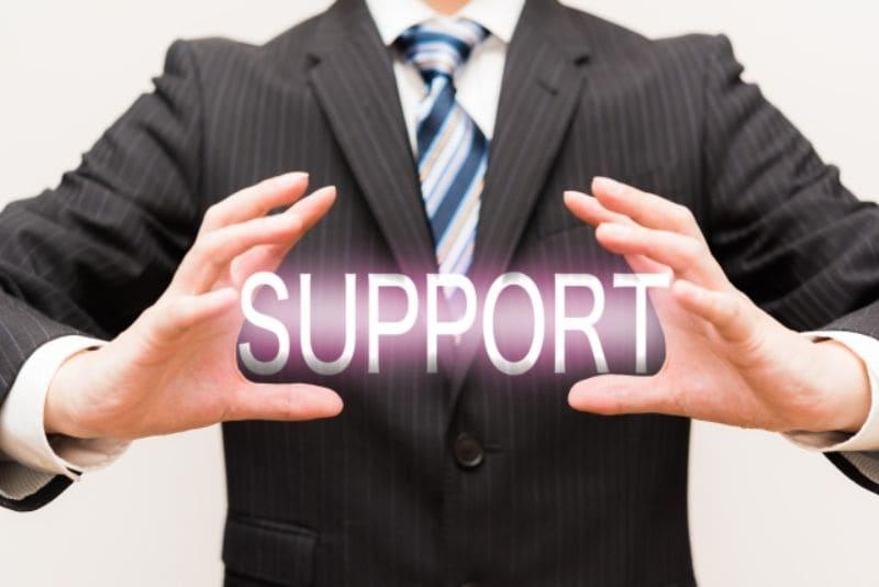 サポート対応